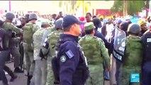 Affrontements entre migrants et force de l'ordre à la frontière mexicaine