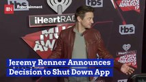Jeremy Renner And His App