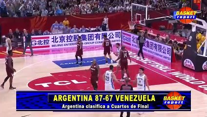 Argentina vs Venezuela WORLD CUP 2019 Basket Report POST