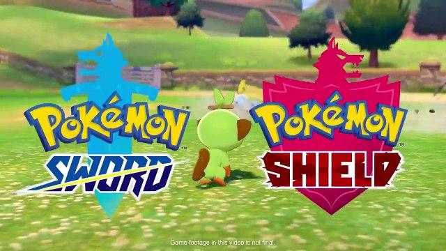 Pokémon Sword and Pokémon Shield - Pokémon Camp Trailer