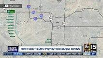 South Mountain Freeway's 40th Street interchange opens
