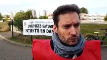 Stéphane Levêque, délégué FO infirmiers Strasbourg