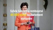 Sylvie Goulard a remboursé 45 000 euros au Parlement européen