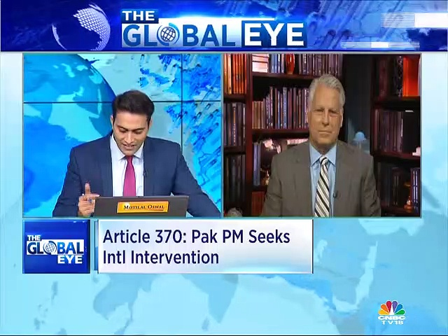World urging India & Pakistan to bilaterally address the concerns in Kashmir, says Tim Roemer