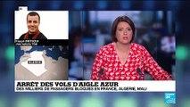 Arrêt des vols Aigle Azur : les passagers ni remboursés ni dédommagés