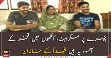 Smile on faces, tears in eyes, Meet the families of martyrs