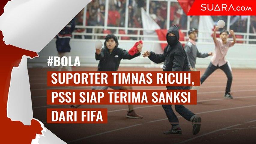 PSSI Siap Terima Sanksi dari FIFA