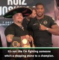Ruiz is the best heavyweight - Joshua