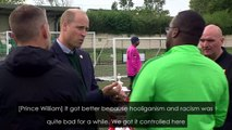 Duke of Cambridge condemns racism in football: 'outrageous'