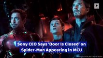Sony CEO Says 'Door Is Closed' on Spider-Man Appearing in MCU