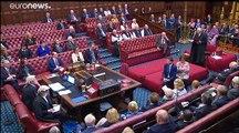 La Cámara de los Lores deja a Boris Johnson a las 'puertas' de una prórroga del Brexit
