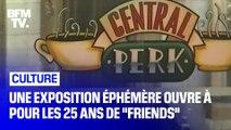 Une exposition éphémère pour célébrer les 25 ans de la série Friends ouvre ce samedi à New York