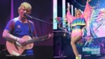 Camila Cabello Played Songs for Taylor Swift and Ed Sheeran's Approval   Billboard News