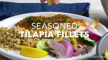 Seasoned Tilapia Fillets