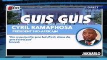 Guis Guis de Ciryl Ramaphosa dans Jakaarlo bi du 06 Septembre 2019