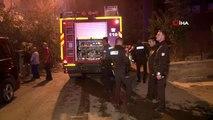 Başkent'te yangın çıkan bina tahliye edildi