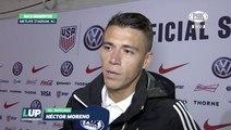 """LUP: """"Hay que hacer equipo desde los cimientos"""": Héctor Moreno"""
