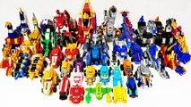 Dinosaur Robot Transformation Toys Play~- Dino Core, GeoMecha, Power rangers, Geo Mecha