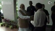 JUST IN: PM Narendra Modi Consoles ISRO Chief