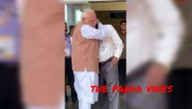 Watch the painful events of ISRO chairman Sivan crying  wiping with PM modi #isro #chandrayan