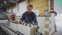 Constructores cambian el cemento por la marihuana