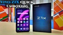 Vivo Z1X Quick Unboxing: 48MP Triple-Lens Camera, 4,500mAh Battery, Snapdragon 712 Processor