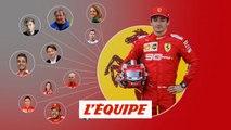 Bienvenue dans la galaxie Charles Leclerc (Ferrari) - Formule 1 - GP d'Italie