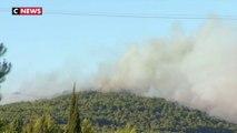Incendies : le sud de la France touché