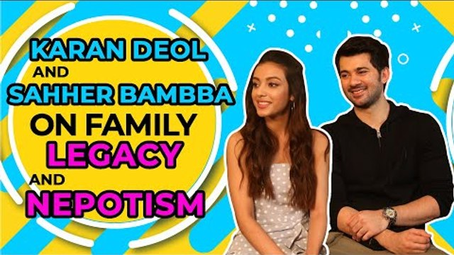 Karan Deol & Sahher Bambba exclusive candid chat with IWMBuzz on nepotism and family legacy