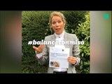 La fille de Brigitte Macron, Tiphaine Auzière, prend la défense de sa mère