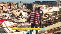 Ouragan Dorian : paysages de désolation aux Bahamas à Marsh Harbour