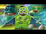 SpongeBob Battle for Bikini Bottom All Robot Bosses (PS2) ᴴᴰ