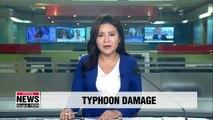 Typhoon Lingling leaves two people dead, 7 injured