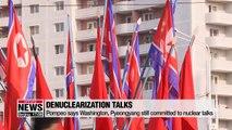 Top U.S. diplomats urge N. Korea to return to denuclearization talks