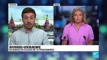 FR NW CLIP RUSSIE UKRAINE ECHANGE PRISONNIERS BORIS SENTSOV CINEASTE POUTINE ZELENSKY