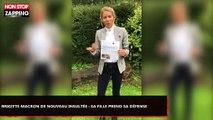 Brigitte Macron de nouveau insultée au Brésil : Sa fille prend sa défense (Vidéo)