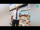 Will Smith est le vendeur de supermarché que l'on rêve tous de croiser