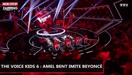 The Voice Kids 6 : Amel Bent se déhanche et imite Beyoncé (Vidéo)