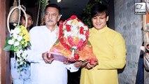 Vivek Oberoi Celebrates Ganpati Visarjan With Family