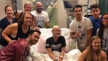 Les Jonas Brothers répondent à l'appel d'une fan atteinte d'un cancer