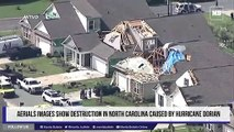 Aerials images show destruction in North Carolina caused by Hurricane Dorian