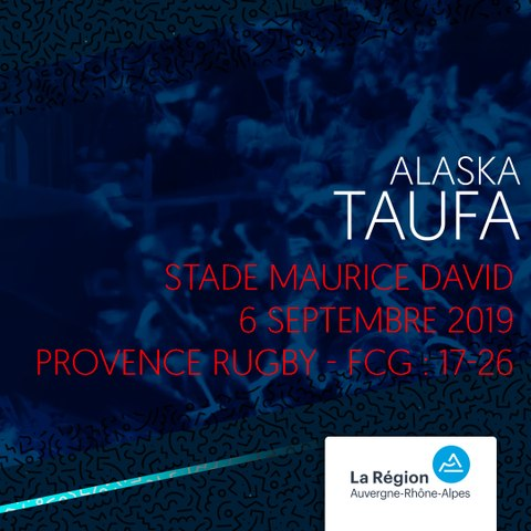 Video : Video - L'essai d'Alaska Taufa contre Provence Rugby