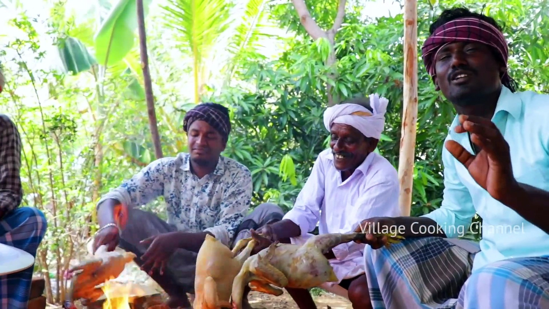 FULL CHICKEN EATING - Full Country Chicken Cooking and Eating in Village - Healthy Village Food