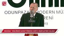 """Erdoğan: """"Kimliğimizi kaybettiğimizde geriye hiçbir şeyimiz kalmaz"""""""