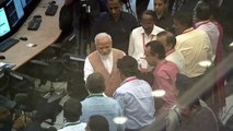Indian PM consoles scientists after moon-lander lost contact
