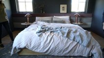 How to Style a Messy-Chic Bed