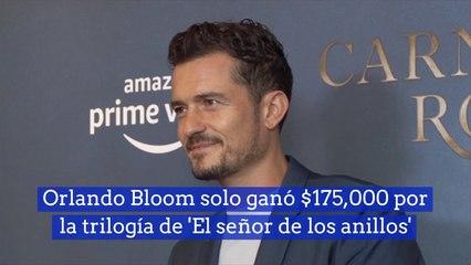 Orlando Bloom solo ganó 175,000 por la trilogía de 'El señor de los anillos'