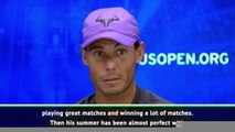 I will face a player of the highest level - Nadal on Medvedev