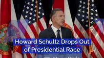 Howard Schultz Steps Out Of The 2020 Race