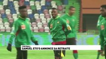 Samuel Eto'o annonce sa retraite